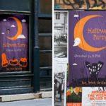 Halloween Event Posters